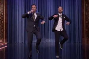 watch this: jimmy fallon and justin timberlake take on hip hop again with new 'history of rap'